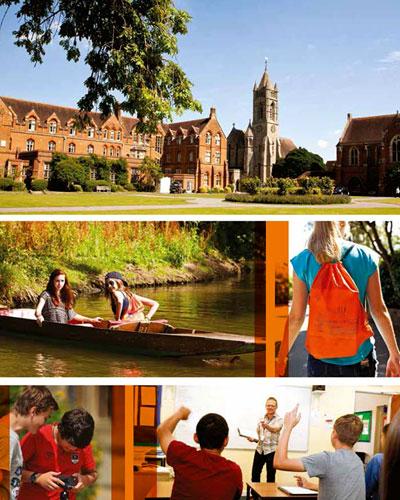 Stages d'anglais d'été à Oxford pour 12-17 ans